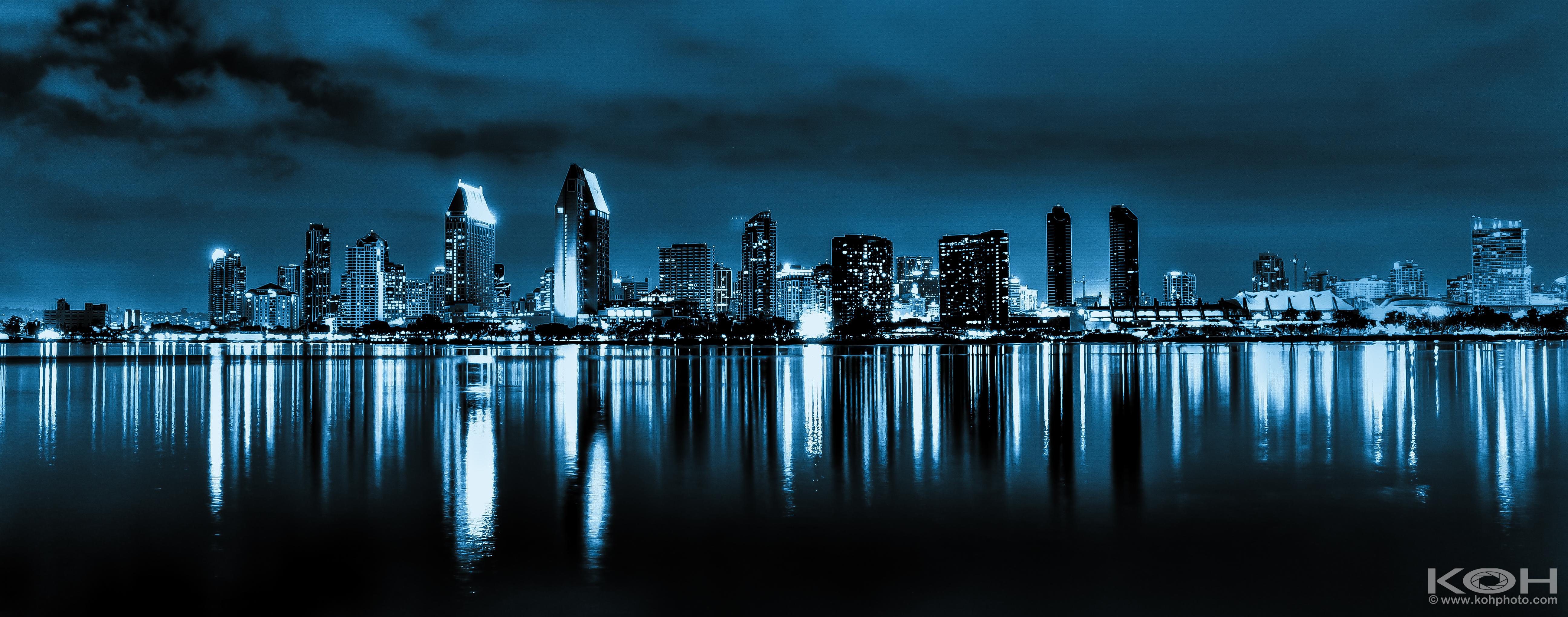 San Diego Cityscape Gotham